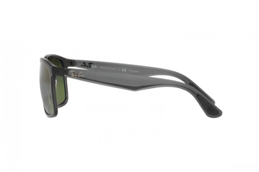 احسن نظارة ريبان شمسية للرجال مربعة -  أسود - زكي للبصريات
