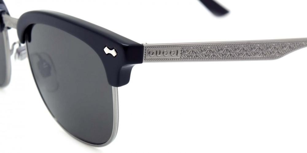 احسن نظارة قوتشي شمسية للرجال - كات أي - لون أسود - زكي للبصريات
