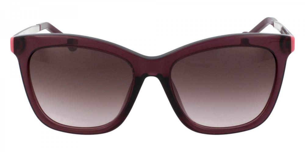 افضل نظارات كارولينا شمسية للنساء - شكل مستطيل - لون بنفسجي - زكي