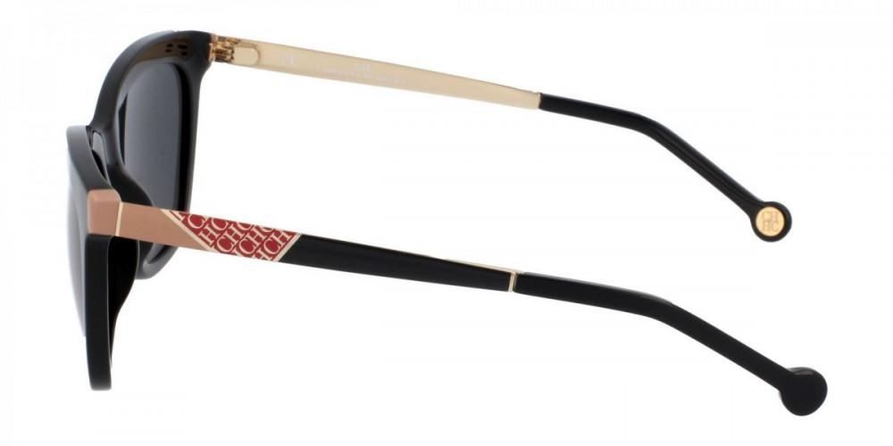افضل نظارات كارولينا شمسية للنساء - شكل مربع - لون اسود - زكي