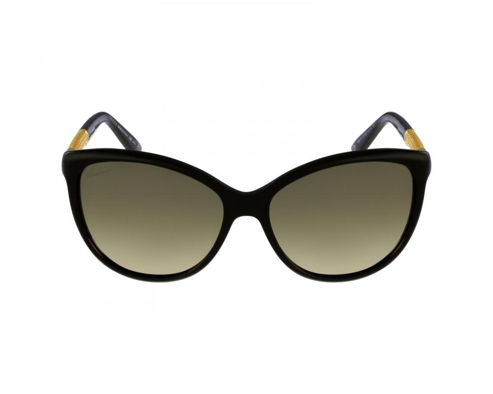 شراء نظارة قوتشي نسائي شمسيه - شكل كات أي - لون أسود - زكي للبصريات