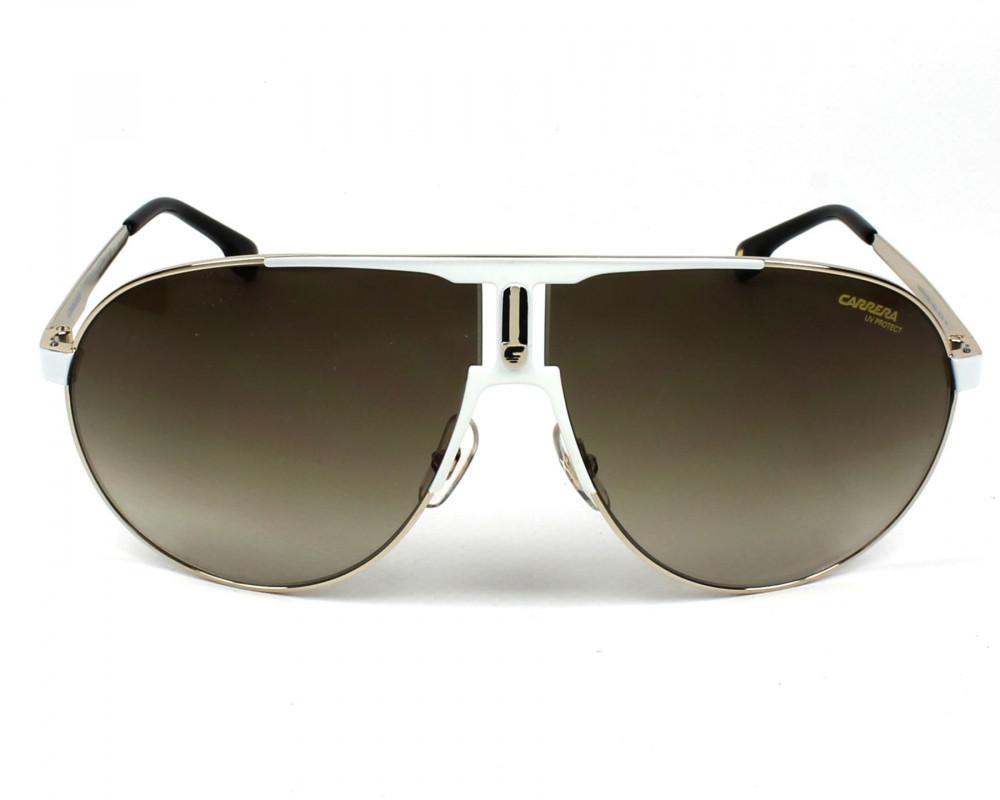 افضل نظارات ماركة carrera شمسية للرجال - افياتور - لون فضي - زكي