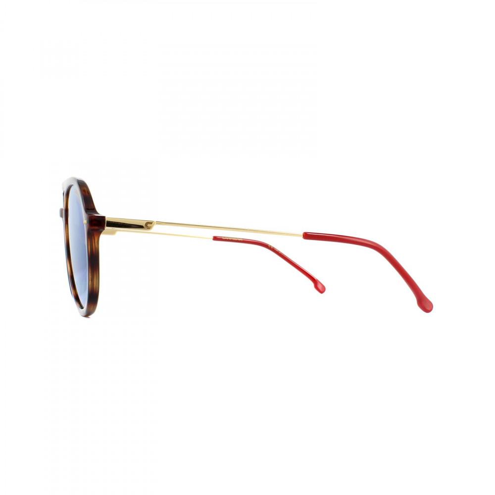 نظارة كاريرا شمسيه للرجال - شكل دائري - لون تايقر - زكي للبصريات