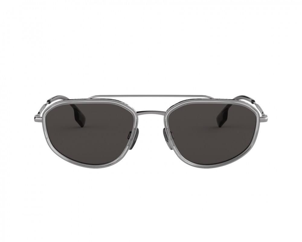 سعر نظارة بربري شمسية للرجال - شكل غير منتظم ولونها فضي - زكي للبصريات