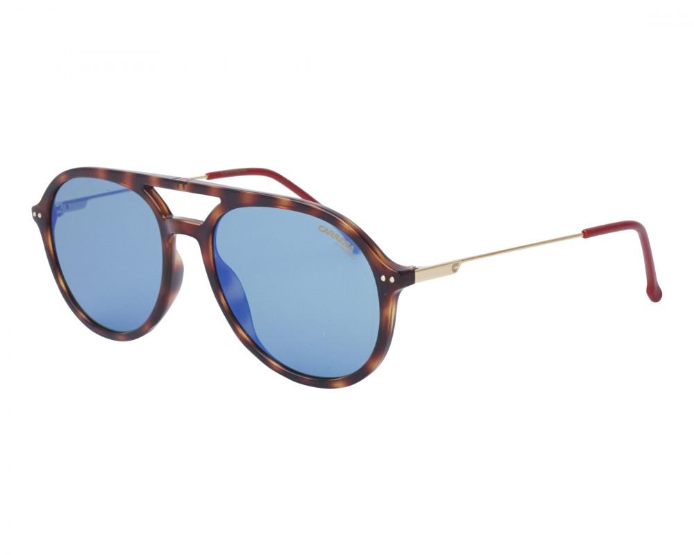 نظارة كاريرا شمسية للرجال - شكل دائري - لون تايقر - زكي للبصريات