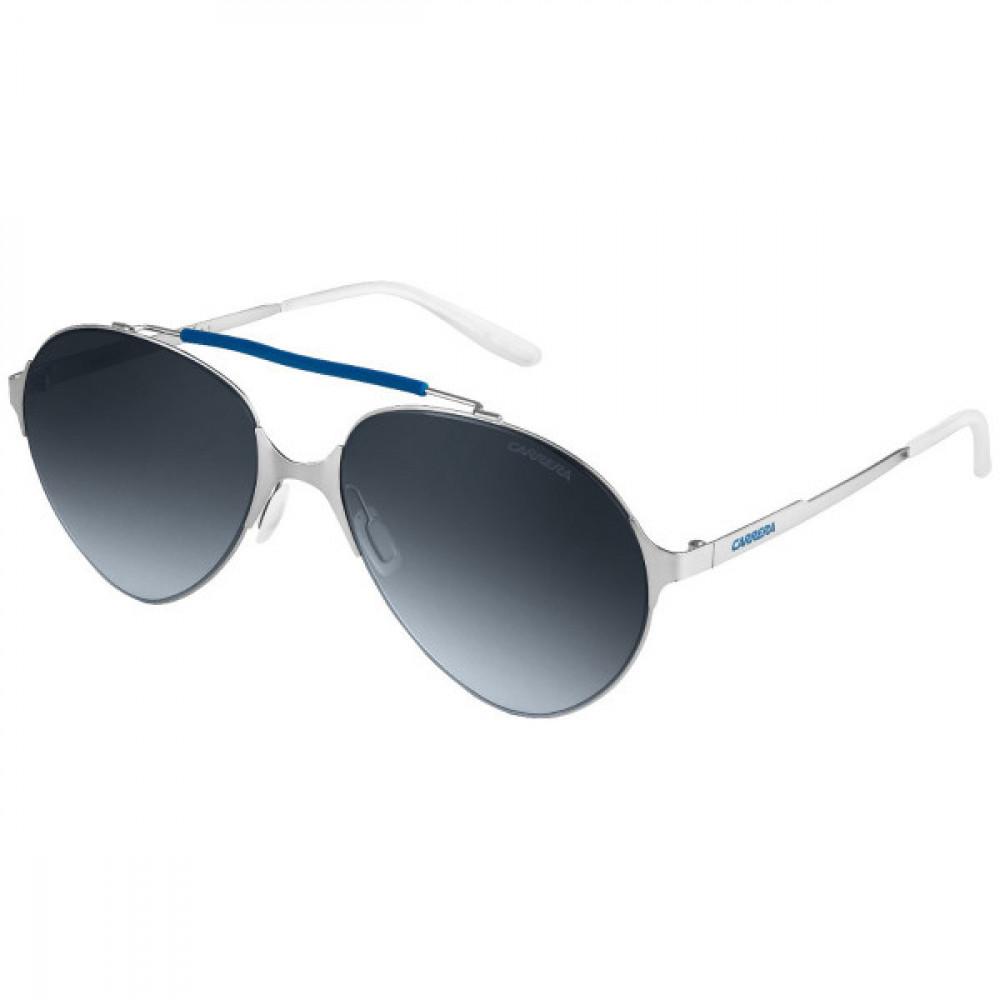 نظارة كاريرا شمسية للرجال - شكل افياتور - لون فضي - زكي للبصريات
