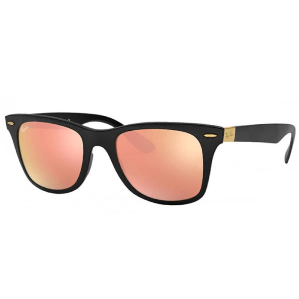 نظارة ريبان شمسية للرجال - واي فير اسود - زكي للبصريات