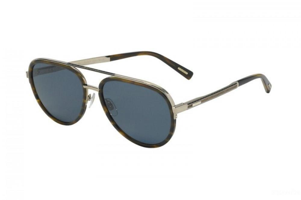 نظارة شوبارد شمسية للرجال - شكل افياتور - لون بني - زكي للبصريات