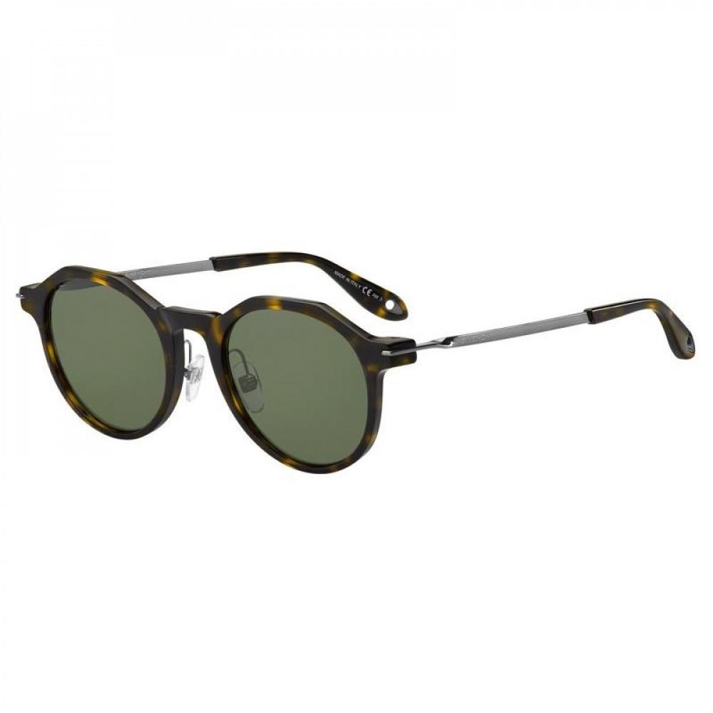 نظارة جيفنشي شمسية للجنسين - شكل دائري - لون تايقر - زكي للبصريات