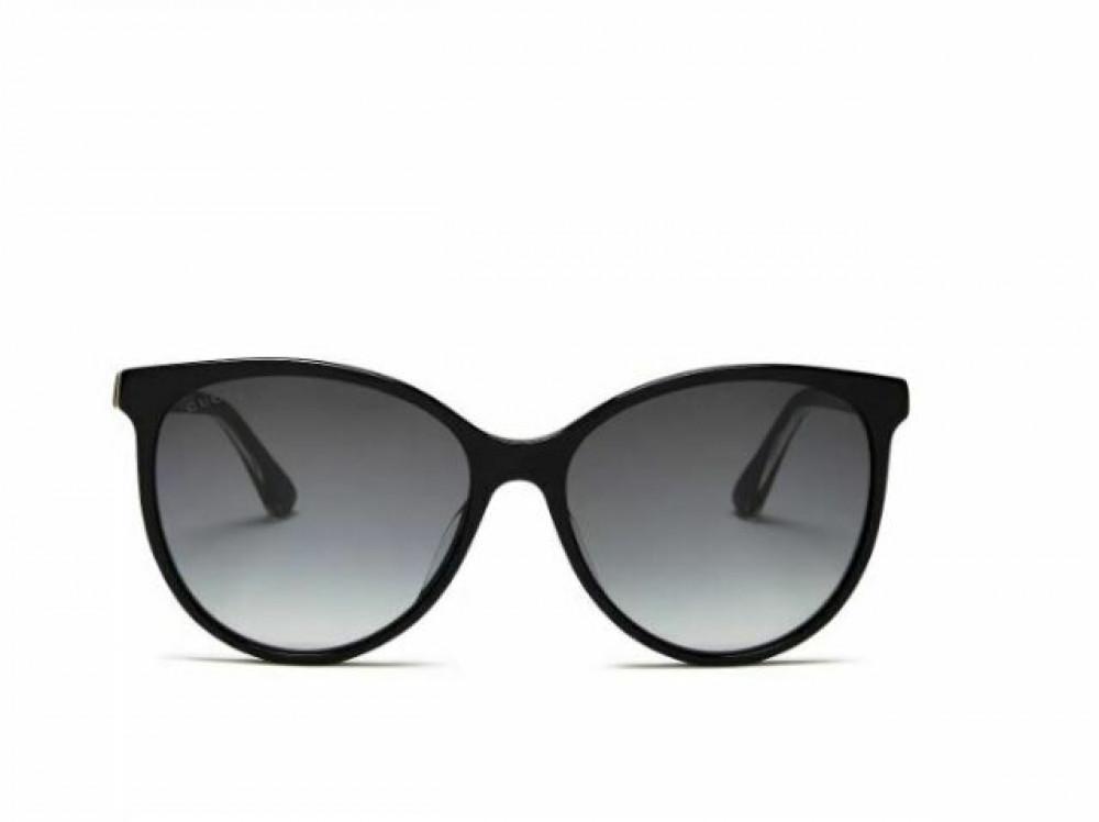 سعر نظارة قوتشي نسائي شمس - شكل كات أي - لونها الاسود - زكي