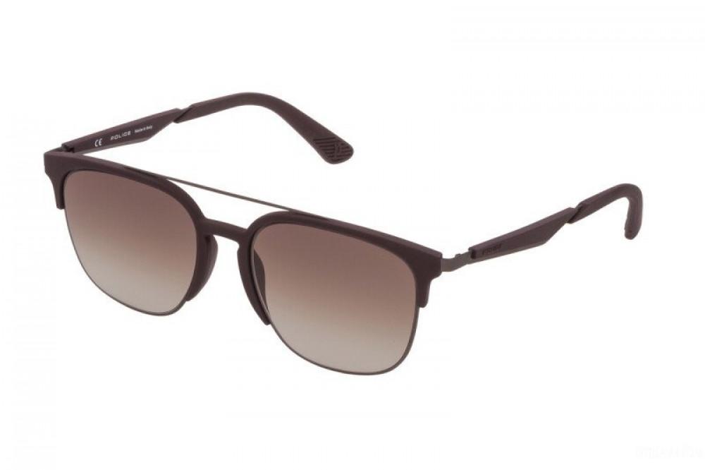 نظارة بوليس شمسيه للرجال - واي فيرر - لون بني - زكي للبصريات