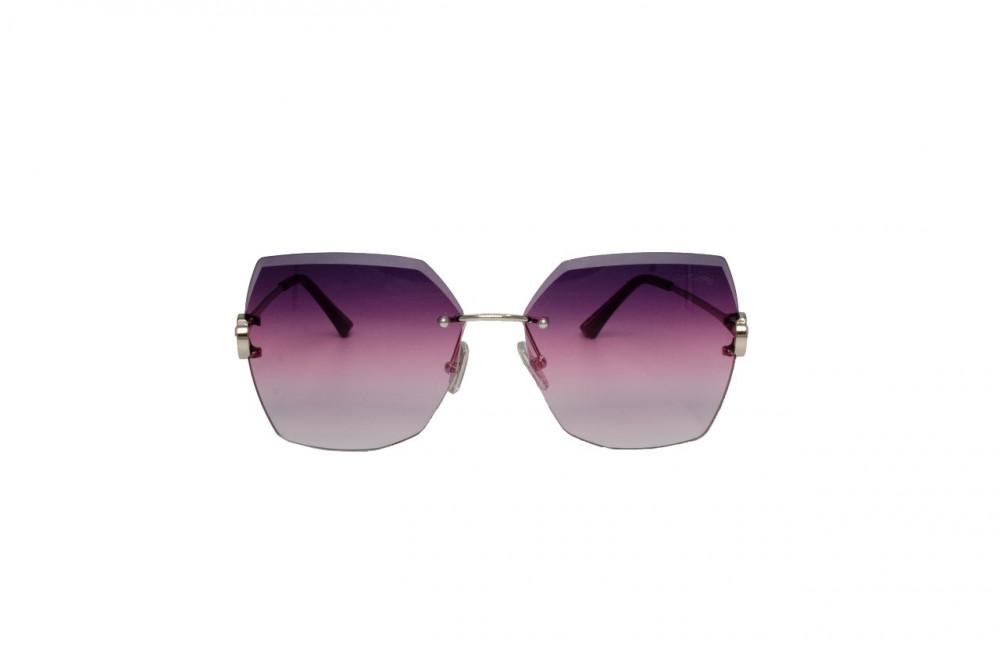 سعر نظارة لومير شمسية للنساء - شكل غير منتظم - لون فضي - زكي