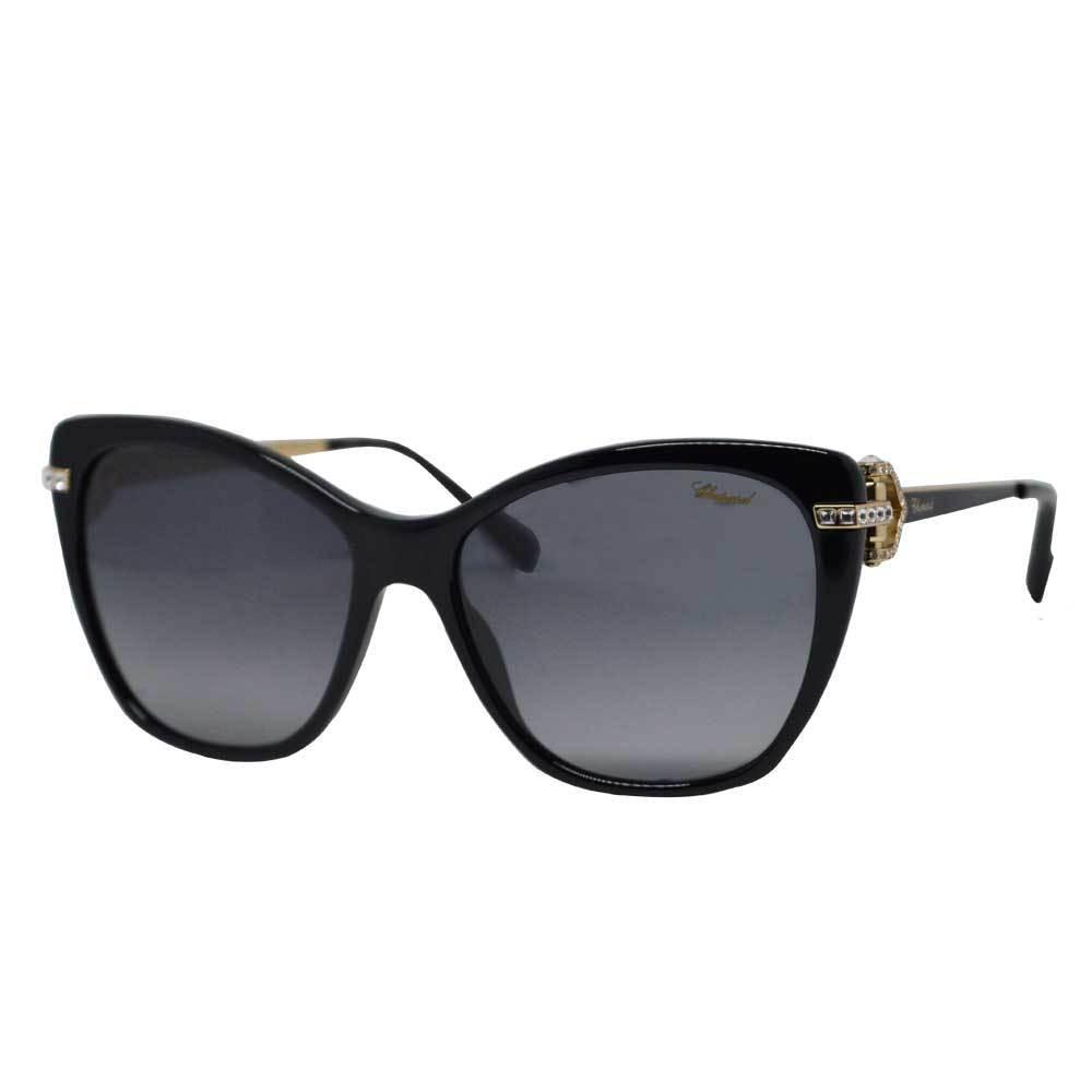 نظارات شوبارد نسائية شمسية - شكل كات اي - لون اسود - زكي