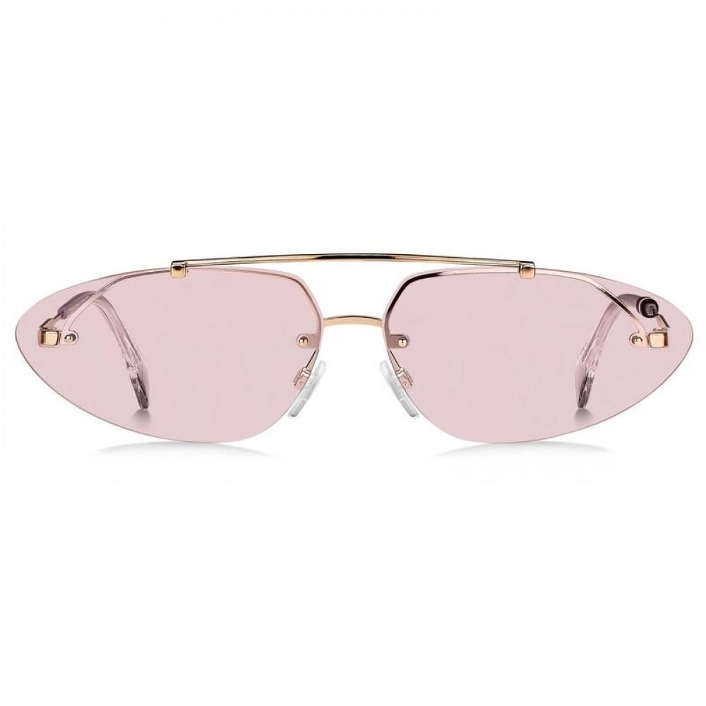 سعر نظارات تومي هيلفيغر الشمسيه للنساء - شكل بيضوي - لون وردي - زكي