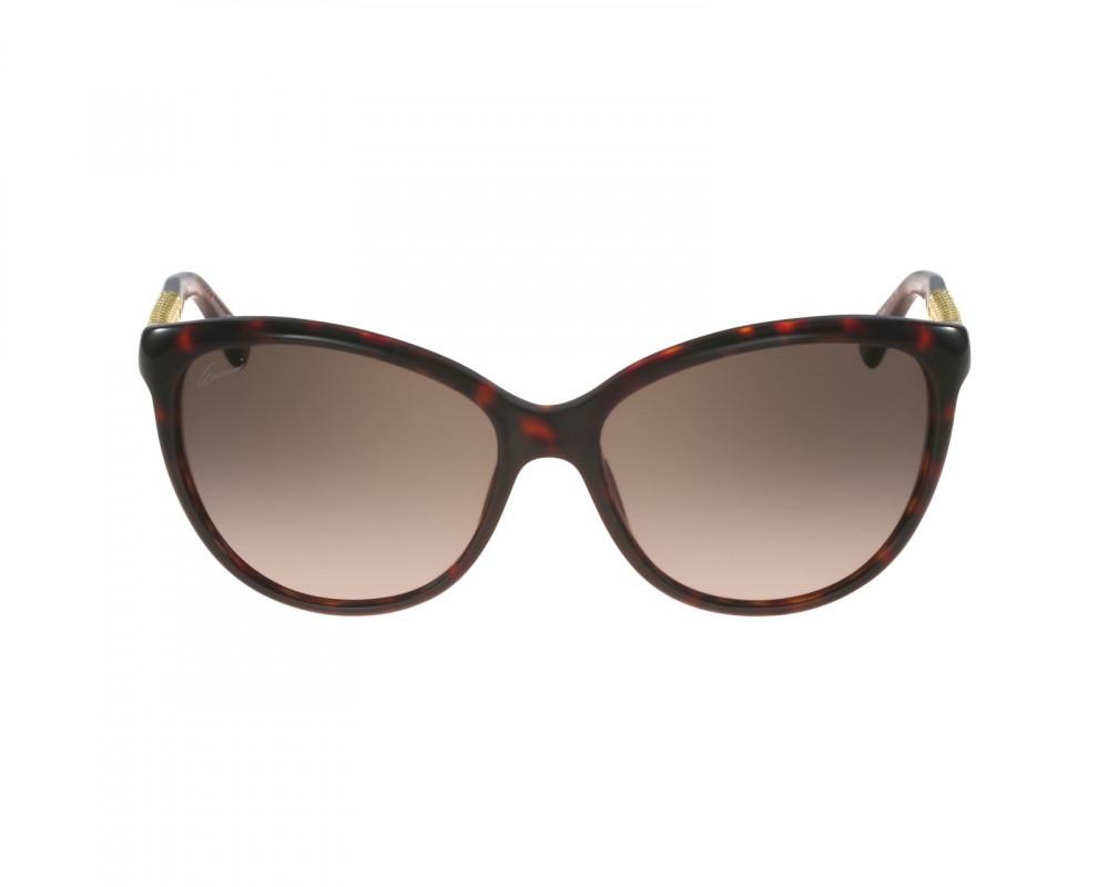 شراء نظارة قوتشي نسائي شمسية - شكل كات اي - لون تايقر - زكي للبصريات
