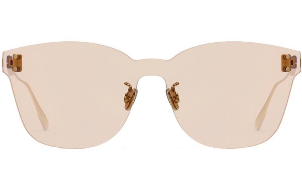 افضل نظارات شمسية نسائية ديور - شكل كات أي - لون وردي - زكي