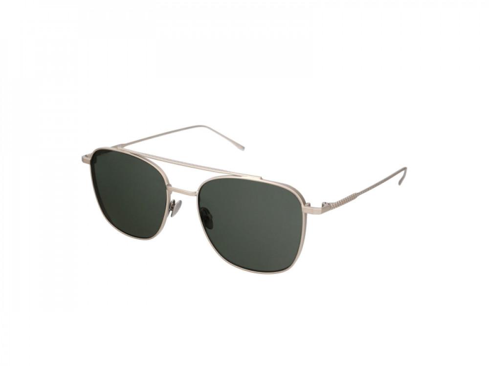 نظارة لاكوست شمسيه للجنسين - شكل افياتور - لون فضي - زكي للبصريات