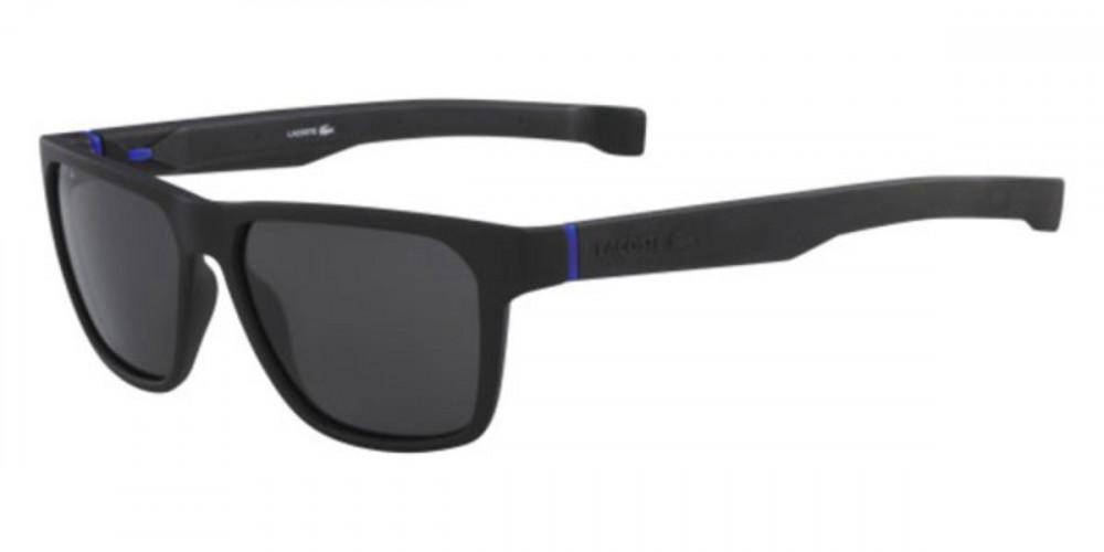 نظارات شمسية رجالية لاكوست - افياتور - لونها اسود - زكي