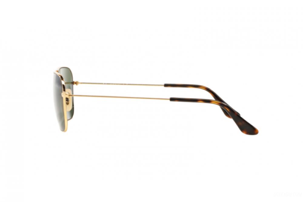 سعر نظارة ريبان شمسية رجالية ونسائية - مستطيلة - ذهبي - زكي للبصريات