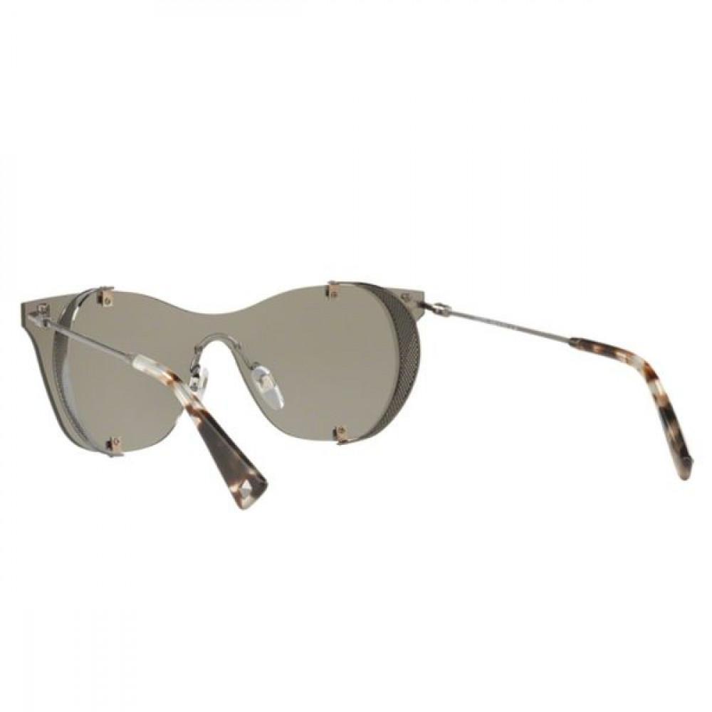 سعر نظارة فالنتينو شمسية للنساء - كات أي - لون فضي - زكي للبصريات