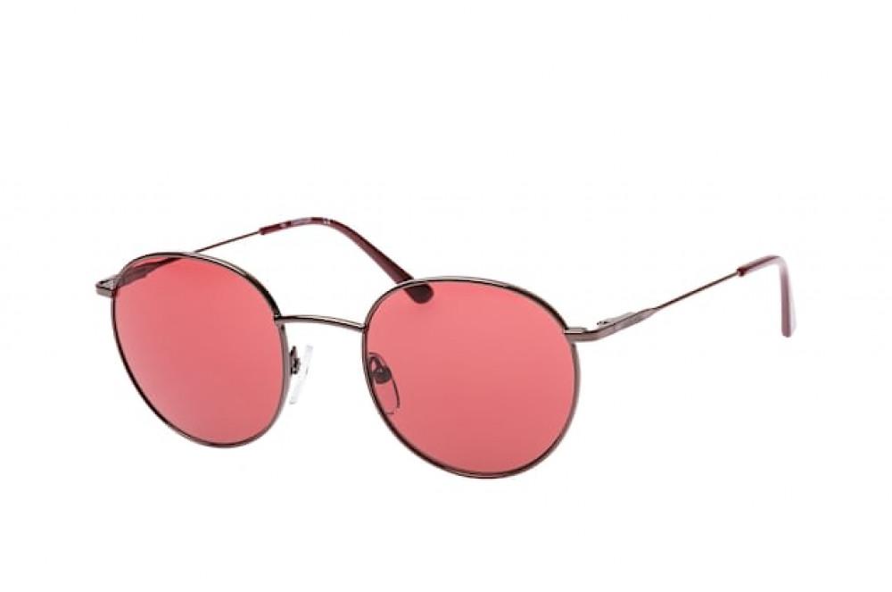 نظارات كالفن كلاين الشمسية للجنسين - شكل دائري - بنية - زكي للبصريات