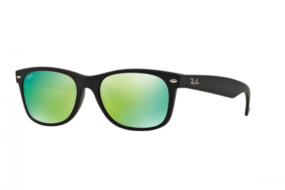 نظارة ريبان شمسية رجالية - شكل واي فيرر - لون اسود - زكي للبصريات