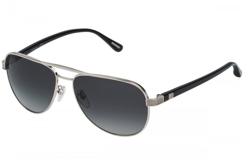 نظارات دنهل شمسية رجاليه - افياتور - لون أسود - زكي للبصريات