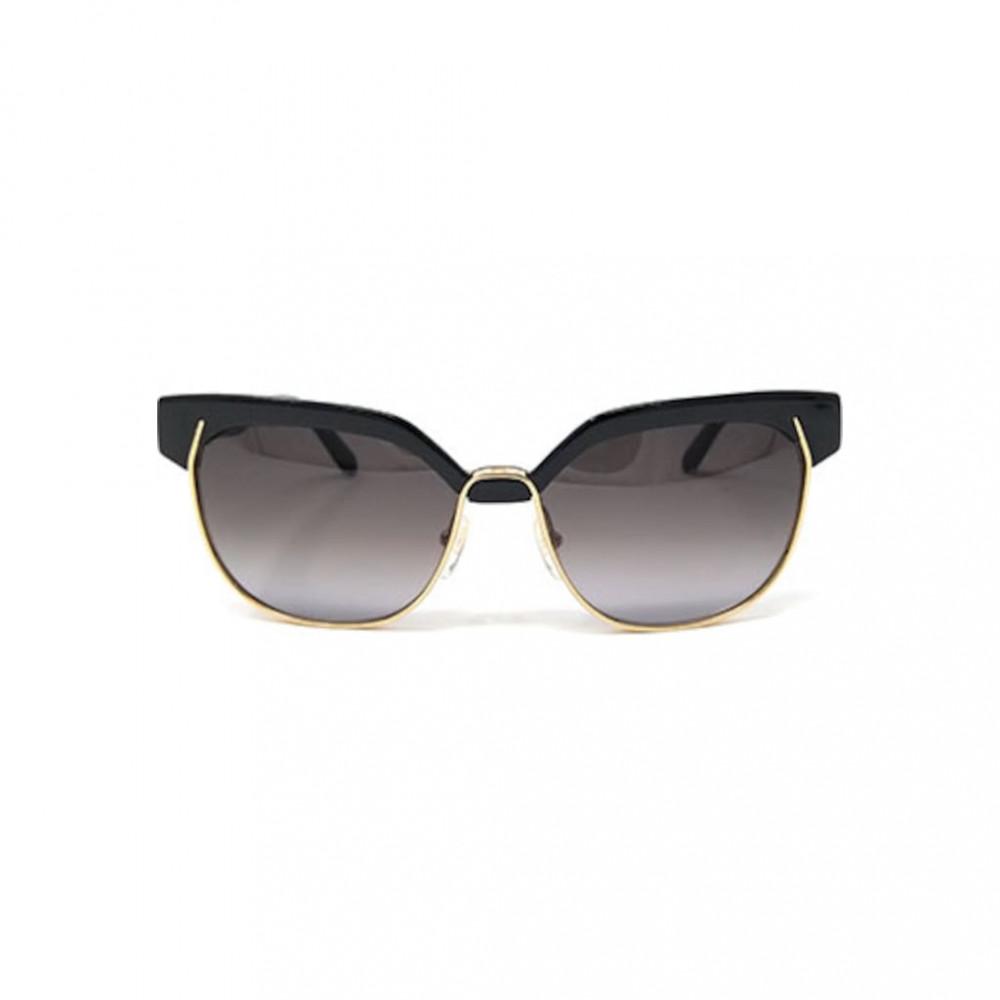 افضل نظارة كلوي شمسية للنساء - شكل كات اي - لون اسود - زكي