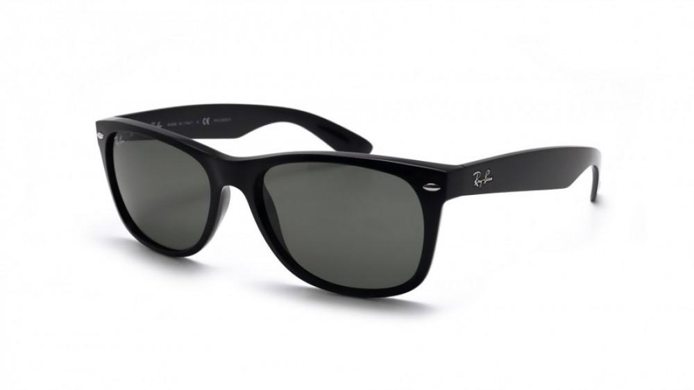 نظارة ريبان شمسيه رجالية - شكل واي فيررر - لون أسود - زكي للبصريات