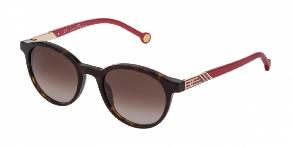 نظارات كارولينا شمسية للنساء - شكل دائري - لون تايقر - زكي