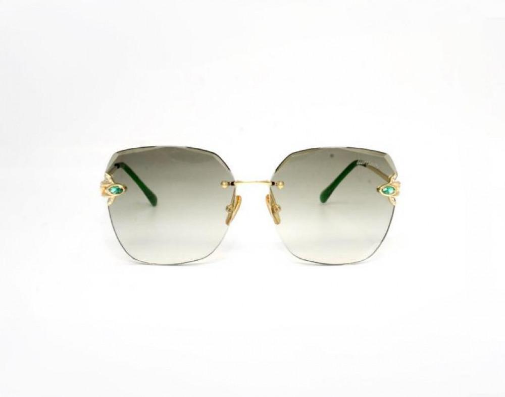 سعر نظارة لومير شمسية للنساء - شكل مربع - لون أخضر - زكي