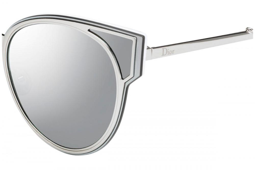 سعر نظارات شمسية نسائية ديور - شكل كات أي - لون رمادي - زكي