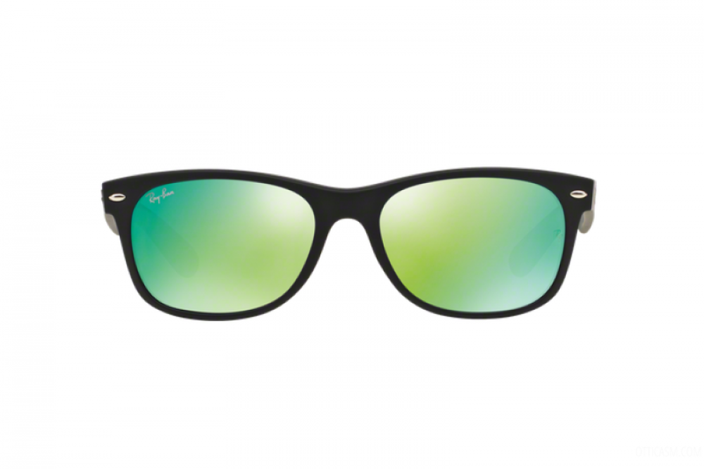 افضل نظارة ريبان شمسية رجالية - شكل واي فيرر - لون اسود - زكي للبصريات