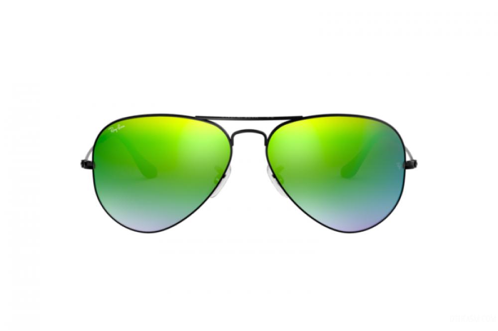 افضل نظارة ريبان شمسيه رجاليه - افياتور - أسود - زكي للبصريات