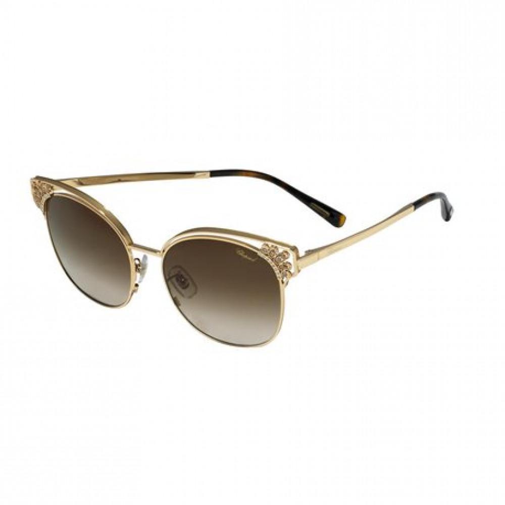 نظارات شوبارد نسائية شمسية - شكل كات أي - لون بني - زكي