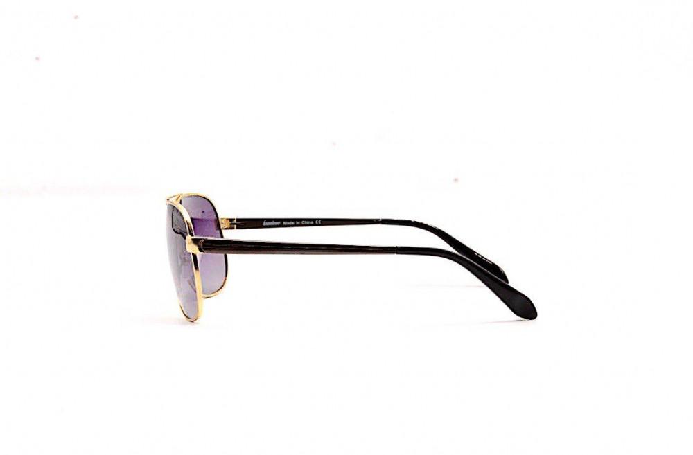 شراء نظارة لومير شمسية للرجال - شكل افياتور - اللون ذهبي - زكي