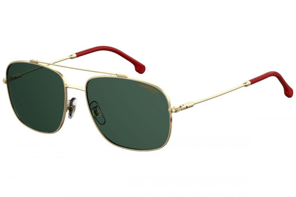نظارة كاريرا شمسية رجاليه - شكل افياتور - لون ذهبي - زكي للبصريات