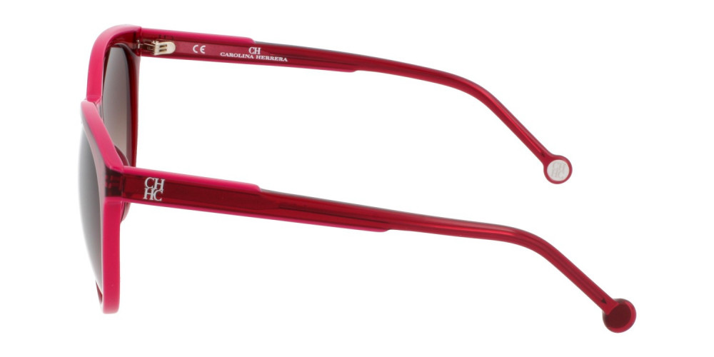 احسن نظارات كارولينا شمسية للنساء - شكل دائري - لونها عودي - زكي