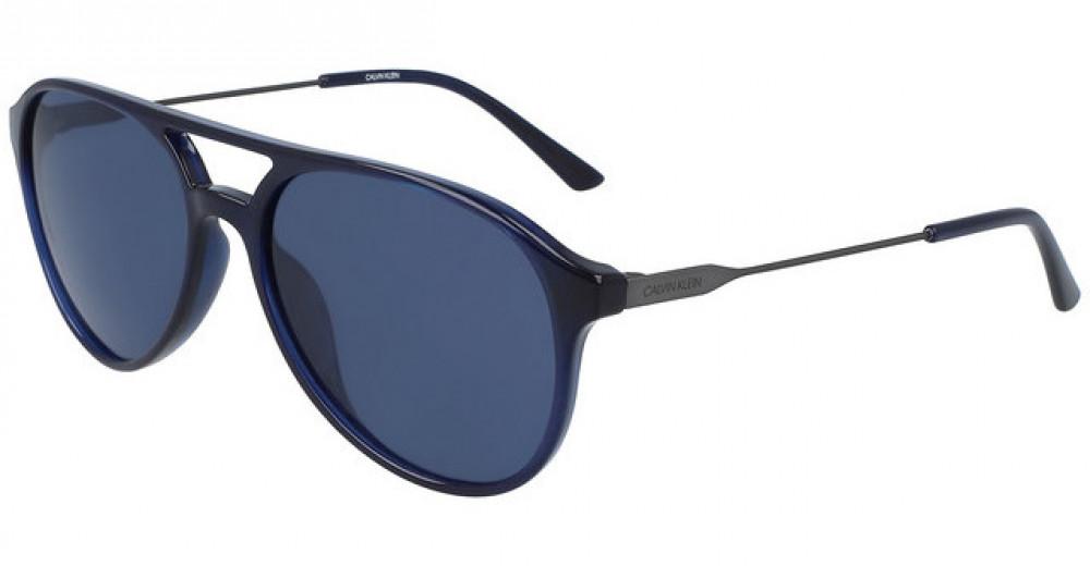 نظارات كالفن كلاين الشمسية للرجال - شكل أفياتور - زكي للبصريات