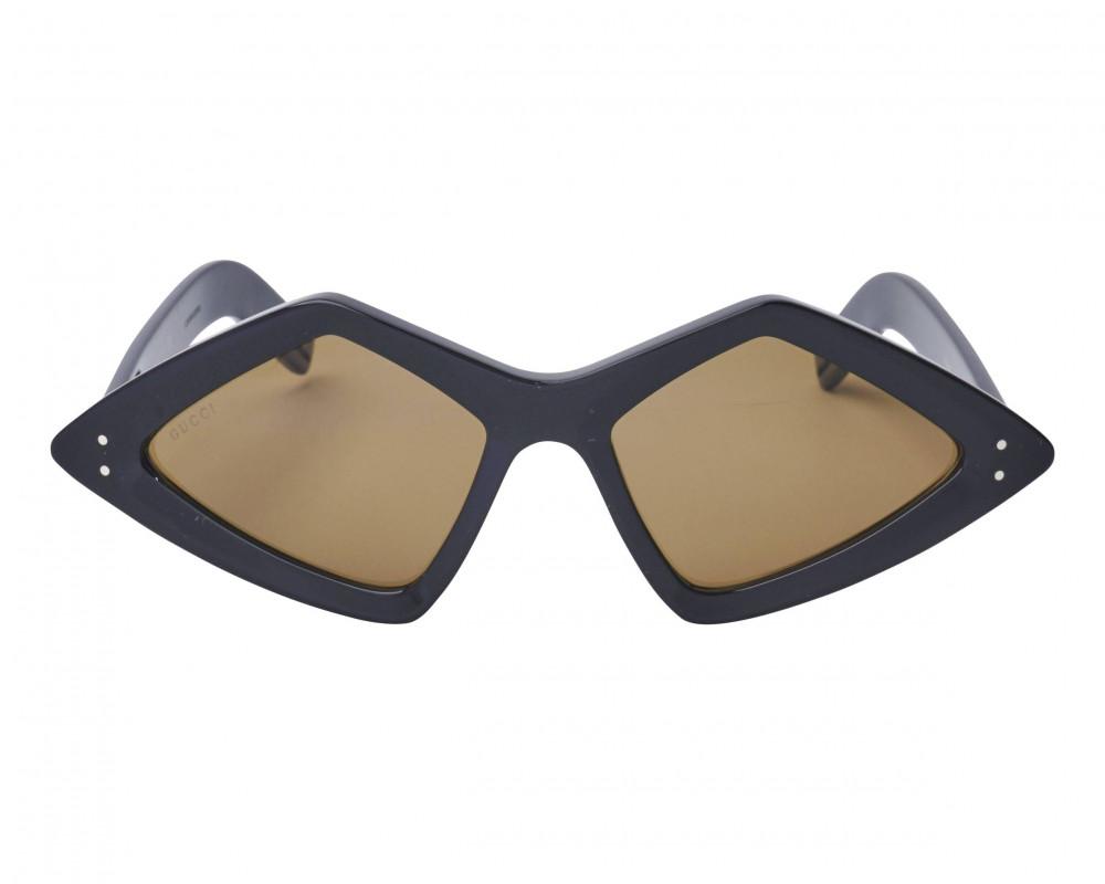 سعر نظارة قوتشي شمسية للجنسين - شكل غير منتظم - لون أسود - زكي للبصريا