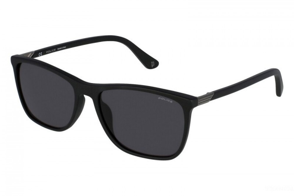 نظارة بوليس شمسية للرجال - واي فيرر - لون اسود - زكي للبصريات