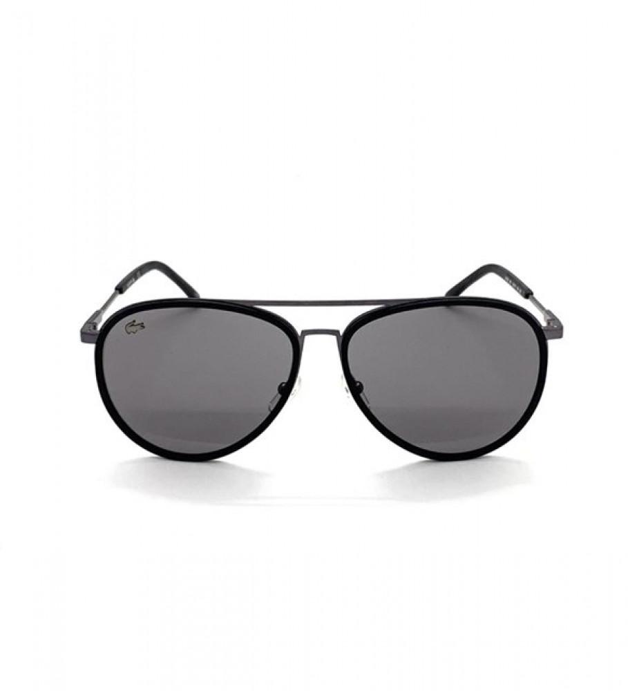 سعر نظارة لاكوست شمسية للجنسين - لون اسود - شكل افياتور - زكي للبصريات