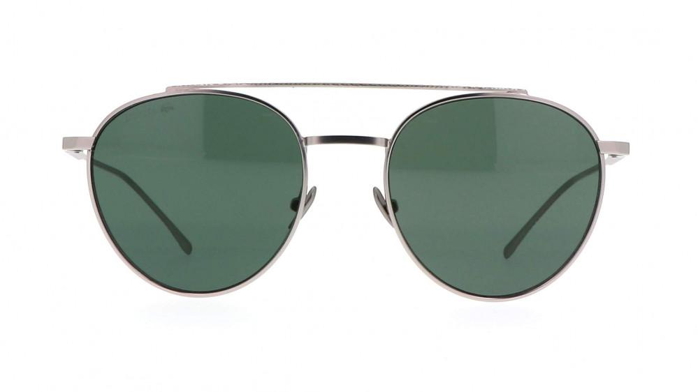 افضل نظارة لاكوست شمسيه للجنسين - شكل دائري - لون فضي - زكي للبصريات