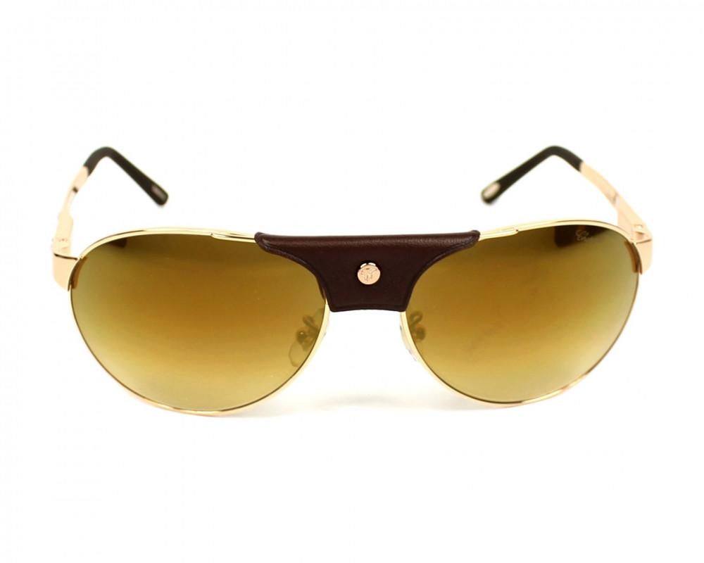 افضل نظارة شوبارد شمسيه للرجال - افياتور - لون بني - زكي للبصريات