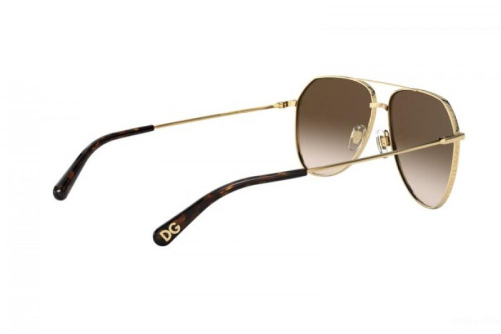 افضل نظارة دولسي اند جابانا شمسية للرجال - افياتور - لون ذهبي - زكي