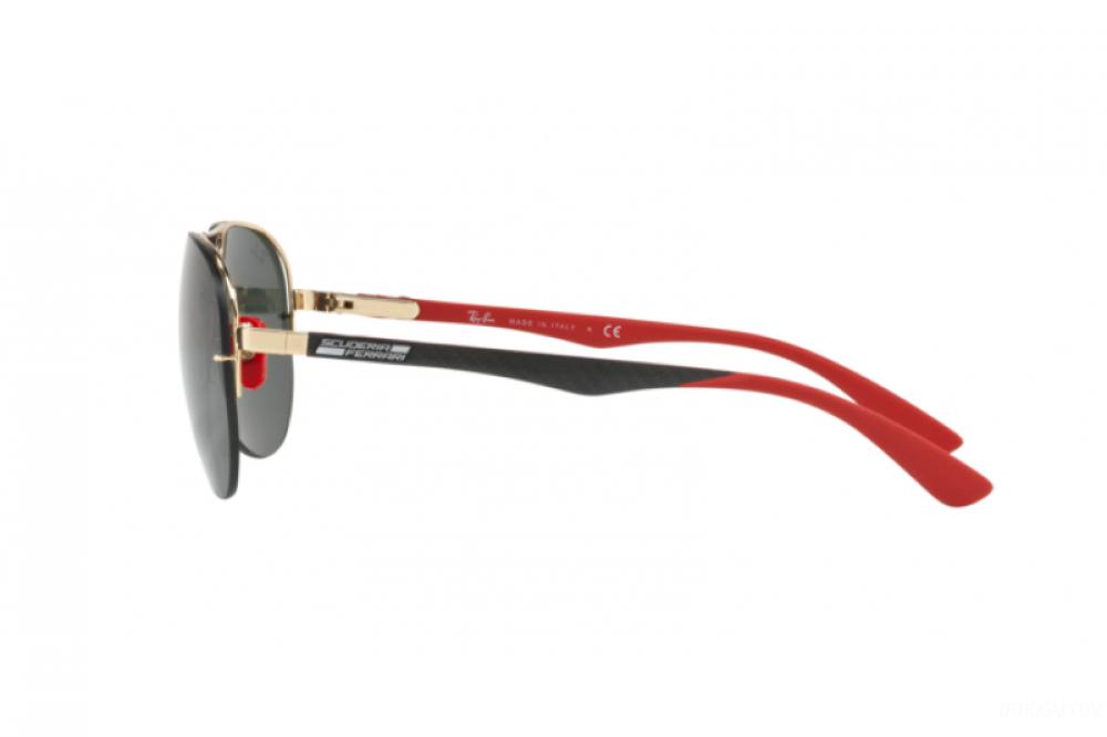 احسن نظارة ريبان شمسية للرجال - افياتور باللون الأسود - زكي للبصريات