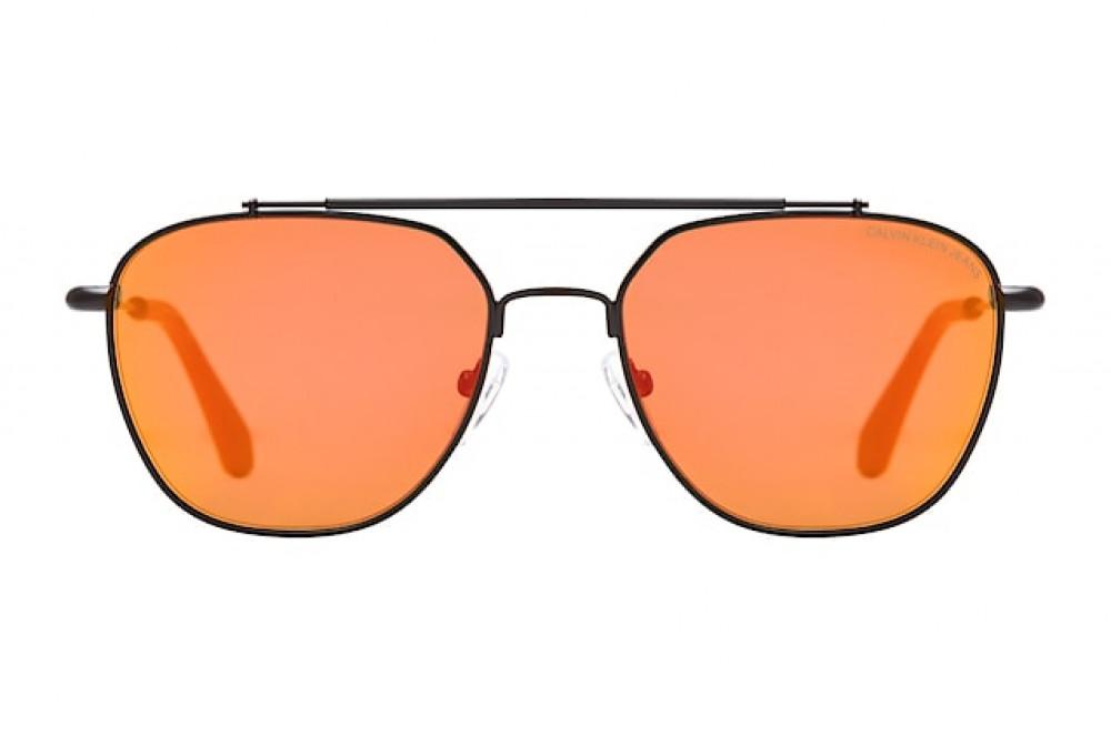 شراء نظارات كالفن كلاين الشمسية للرجال - أسود - أفياتور - زكي للبصريات