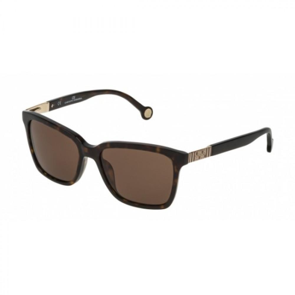 نظارات كارولينا شمسية للنساء - شكل مستطيل - لونها تايجر - زكي