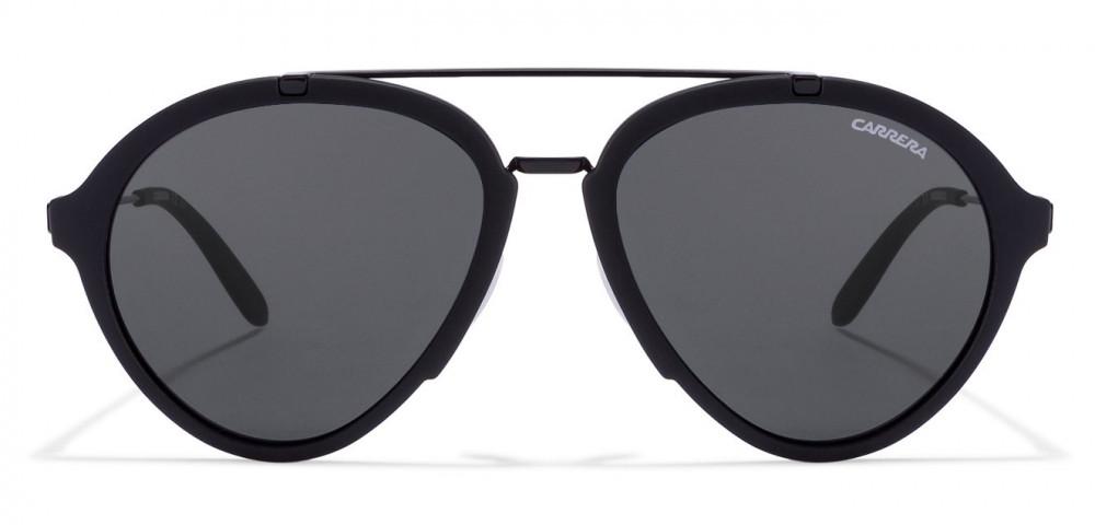 سعر نظارة كاريرا شمسية للرجال - شكل افياتور - لون أسود - زكي للبصريات