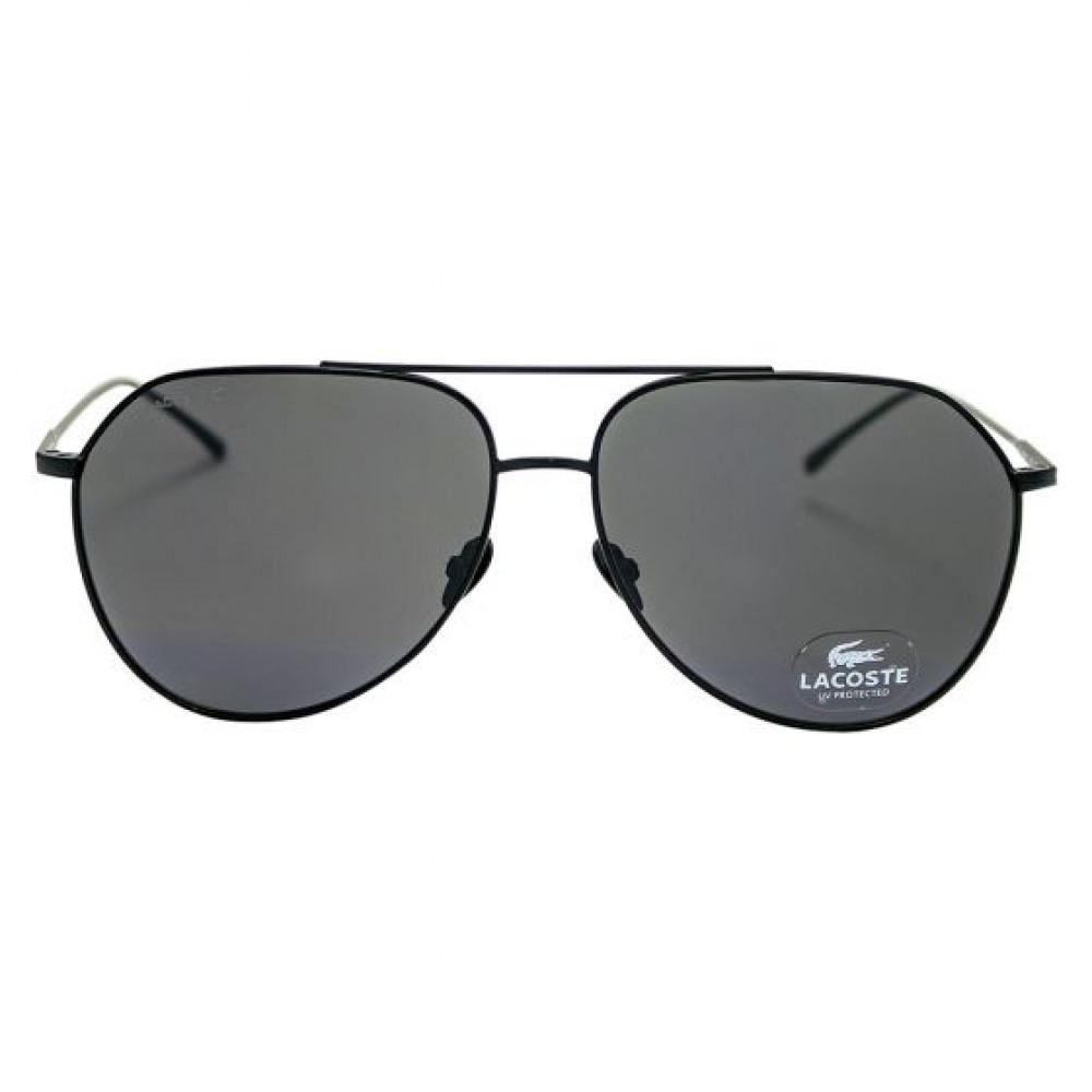 سعر نظارة لاكوست شمسية للجنسين - شكل أفياتور - لون أسود - زكي للبصريات